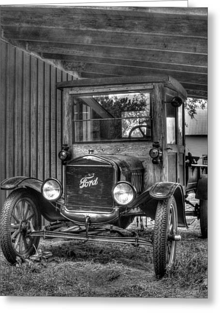 Greeting Card featuring the photograph Old Ford by Dawn Currie