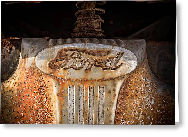 Old Ford Greeting Card by Edward Fielding