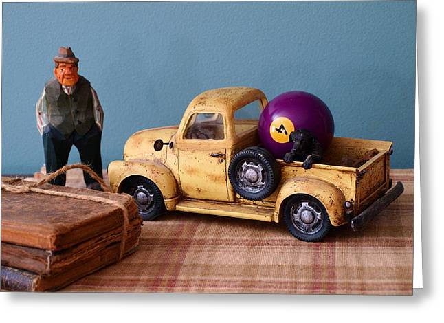 Old Friends-still Life Greeting Card by Tom Druin