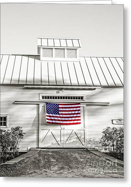 Old Glory Circa 1776 Greeting Card