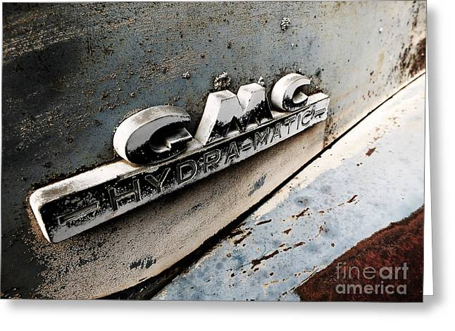 Old Gmc Greeting Card by Kimberly Maiden