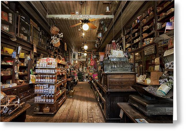 Old Hardware Store Greeting Card by Mountain Dreams
