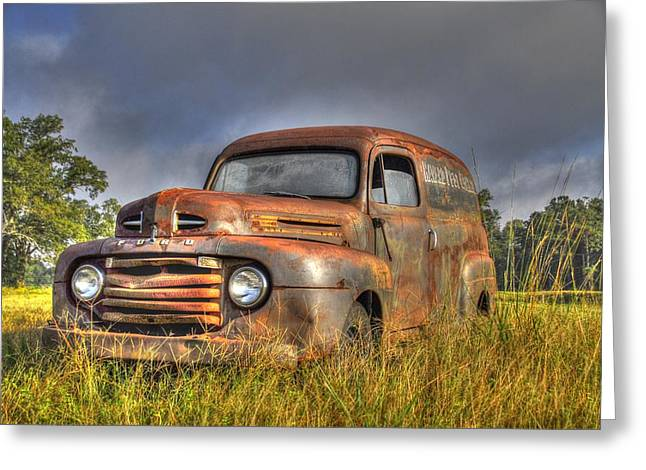 Old Havard Truck 2 Greeting Card
