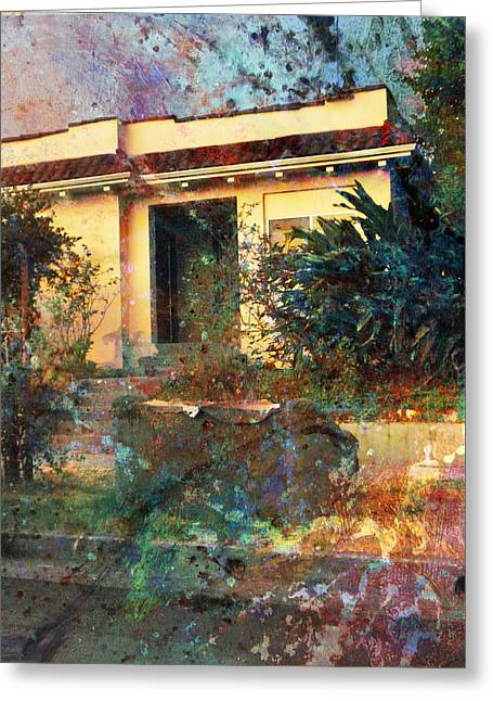 Greeting Card featuring the photograph Old Home Art  by John Fish