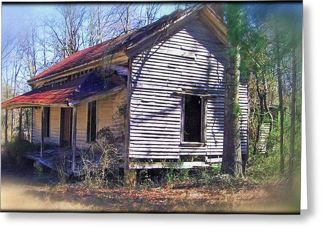 Greeting Card featuring the photograph Old Home Place by Larry Bishop