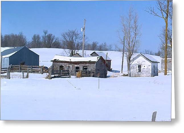 Old Homestead 33 Greeting Card