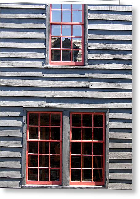 Greeting Card featuring the photograph Old House Greenfield Village Michigan by Mary Bedy
