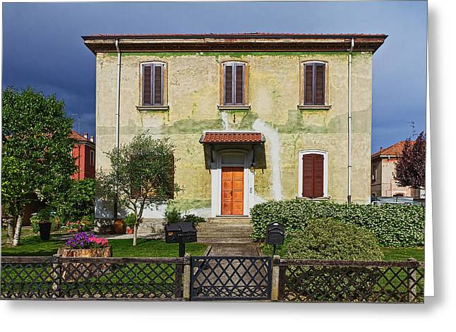 Old House In Crespi D'adda Greeting Card