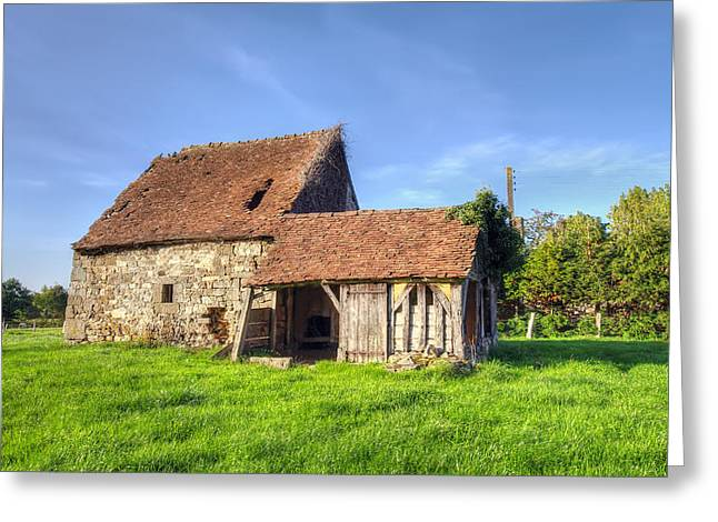 Old House  Greeting Card by Ioan Panaite