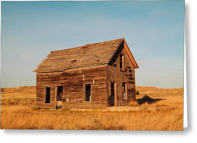 Old House Greeting Card by Jeff Swan