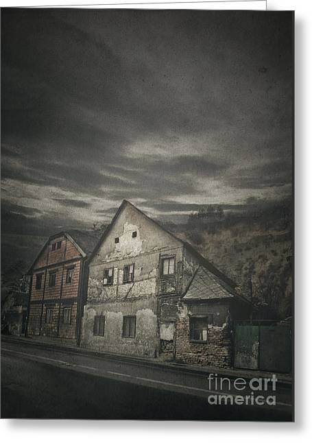 Old House Greeting Card