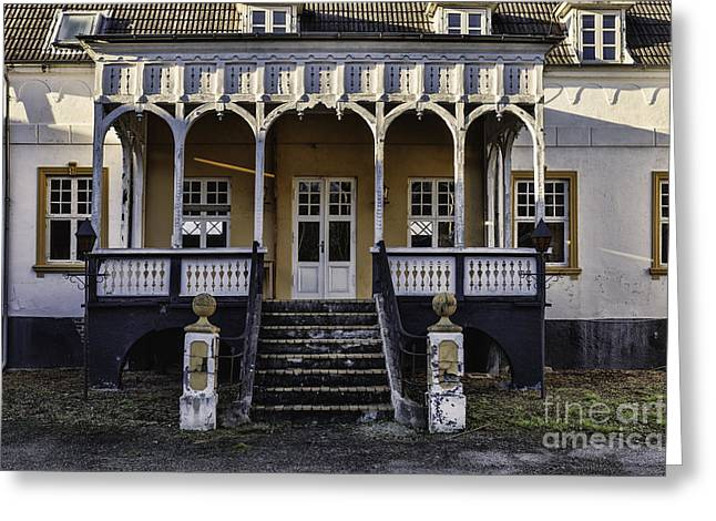 Old Inn At Korinth On Funen In Denmark Greeting Card by Frank Bach
