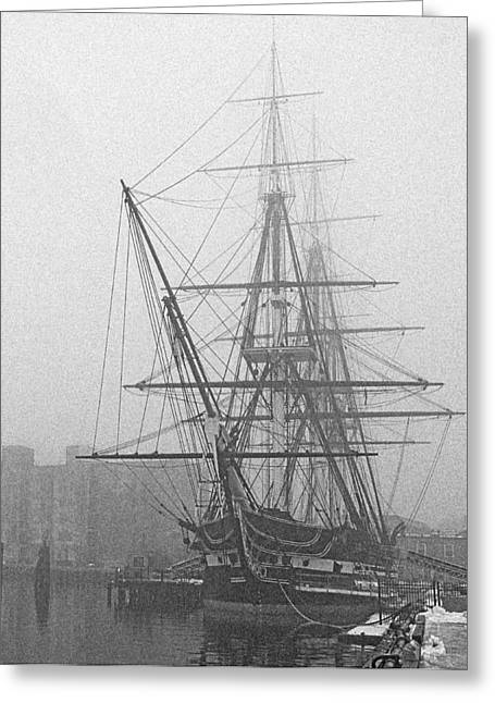 Old Ironsides 1001 Greeting Card