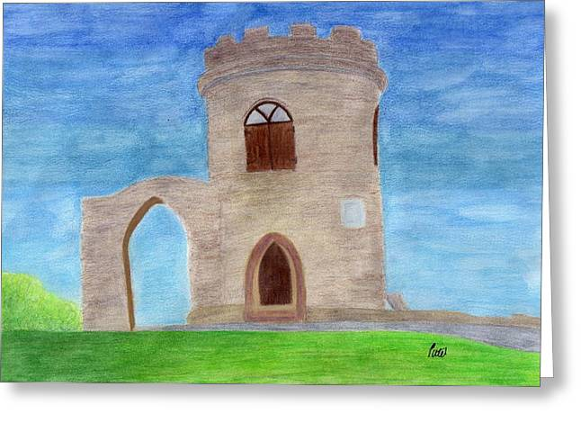 Old John - Bradgate Park Greeting Card by Bav Patel