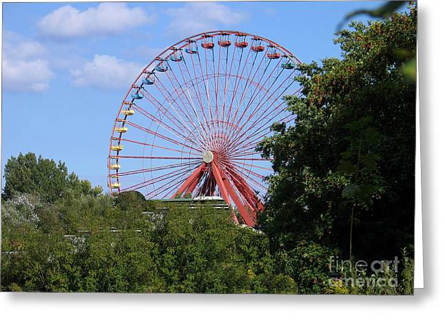 Greeting Card featuring the photograph Old Leisure Park Planterwald by Art Photography