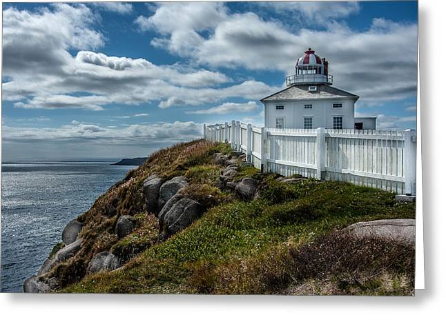 Old Light House Greeting Card