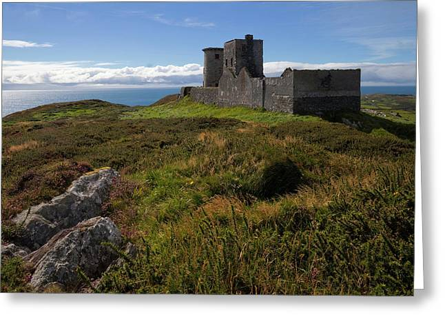 Old Lighthouse And Napoleonic Fort,cape Greeting Card by Panoramic Images