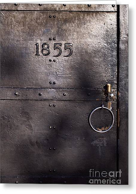 Old Lighthouse Door Greeting Card by Eyzen M Kim