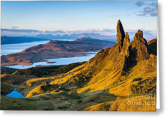 Old Man Of Storr At Sunrise Greeting Card