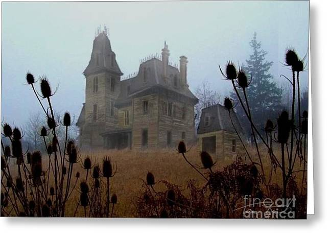 Old Manor Greeting Card by Tom Straub