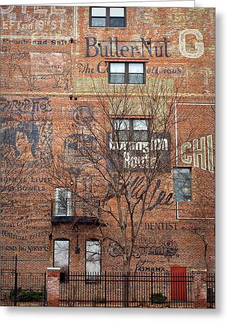 Old Market - Omaha - Metz Building - #1 Greeting Card