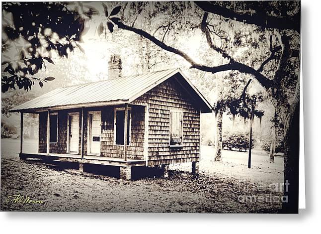 Old Masonboro Slave Cottage Greeting Card