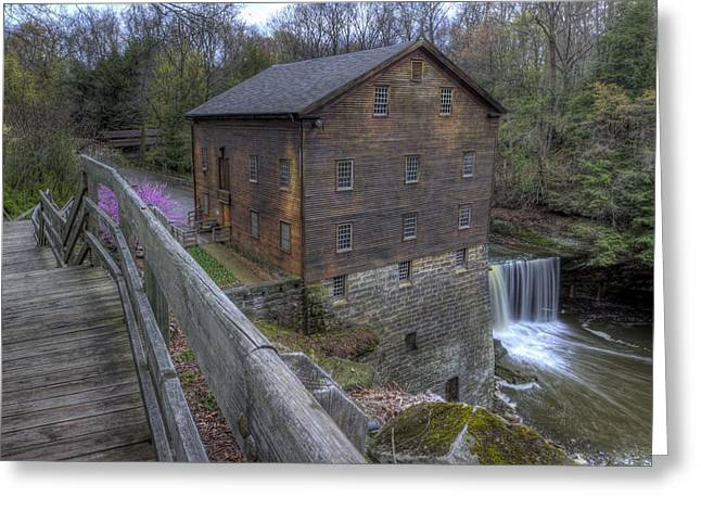 Old Mill Of Idora Park Greeting Card