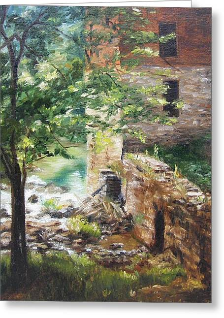 Old Mill Stream I Greeting Card