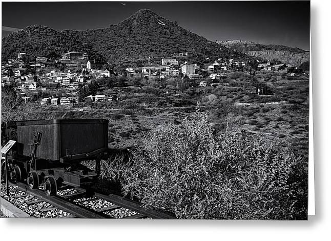 Greeting Card featuring the photograph Old Mining Town No.23 by Mark Myhaver