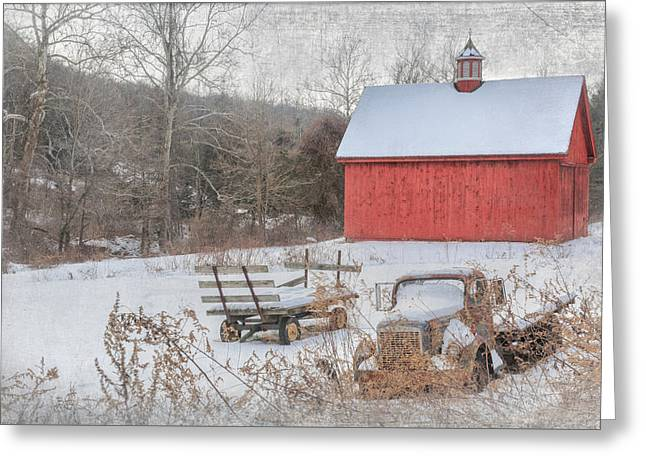 Old New England Greeting Card by Bill Wakeley
