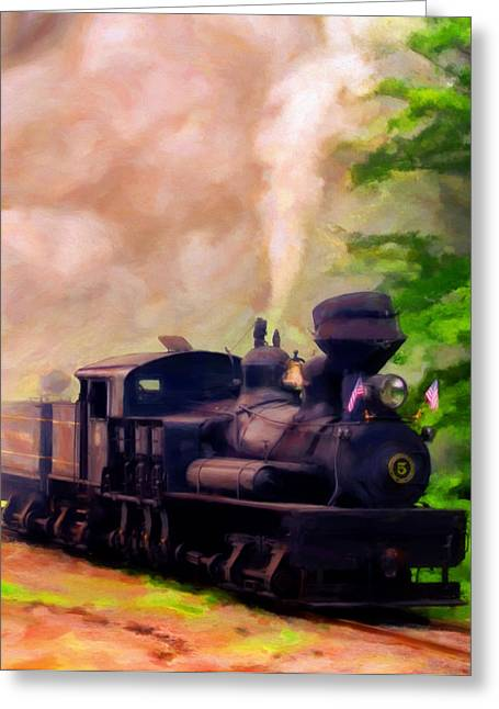 Old No. 5 Greeting Card by Michael Pickett