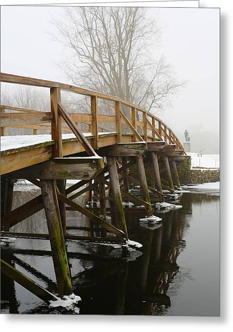 Old North Bridge Greeting Card