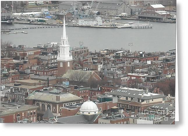 Old North Church Boston Ma Greeting Card