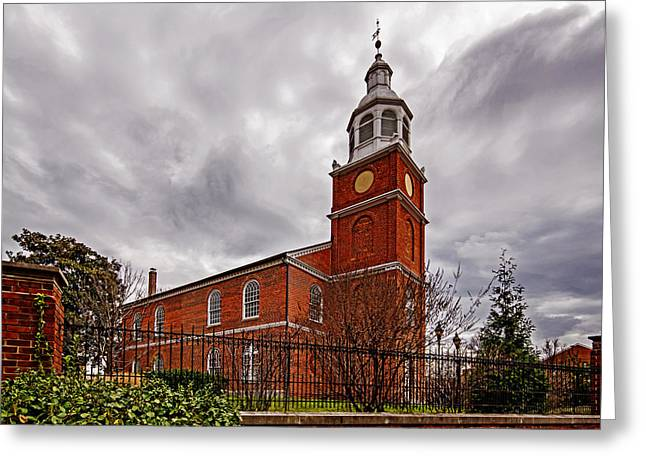Old Otterbein Country Church Greeting Card