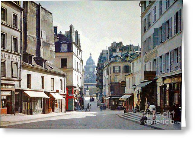 Greeting Card featuring the photograph Old Paris by Bill OConnor