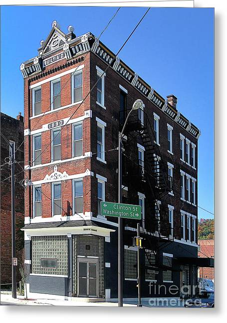 Old Penn Hotel - Johnstown Pa Greeting Card