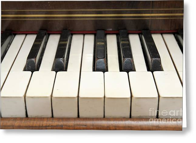 old piano II Greeting Card