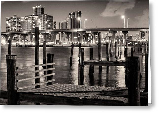 Old Pier Greeting Card by Celso Diniz
