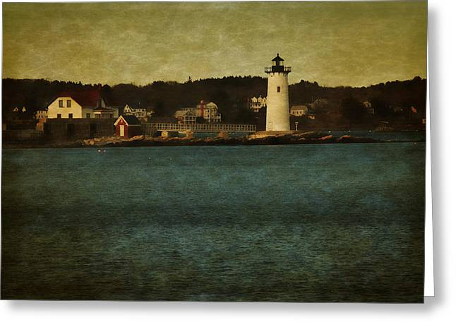Old Portsmouth Lighthouse Greeting Card