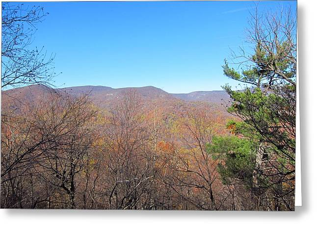 Old Rag Hiking Trail - 121219 Greeting Card by DC Photographer