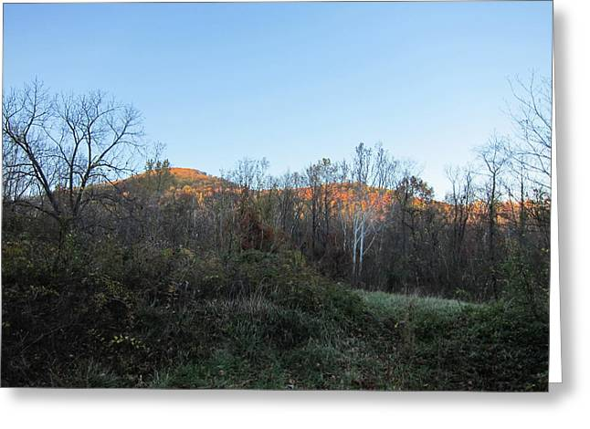 Old Rag Hiking Trail - 121267 Greeting Card by DC Photographer
