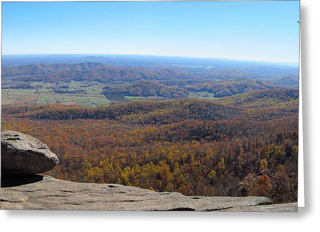 Old Rag Hiking Trail - 121268 Greeting Card by DC Photographer