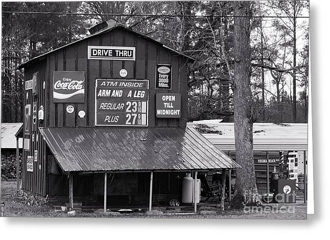 Old Roadside Store Greeting Card by Scott Cameron
