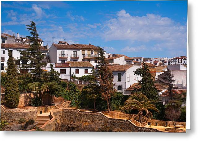Old Ronda. Andalusia. Spain Greeting Card by Jenny Rainbow