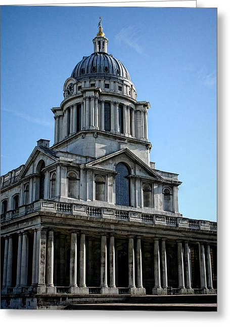 Old Royal Naval College Greeting Card by Heather Applegate