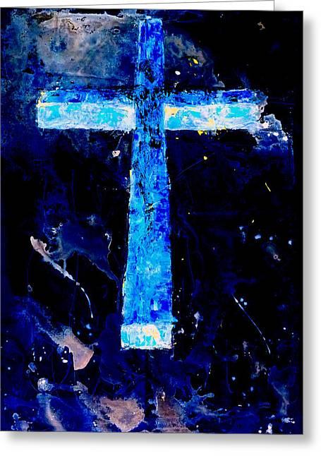 Old Rugged Cross II Greeting Card