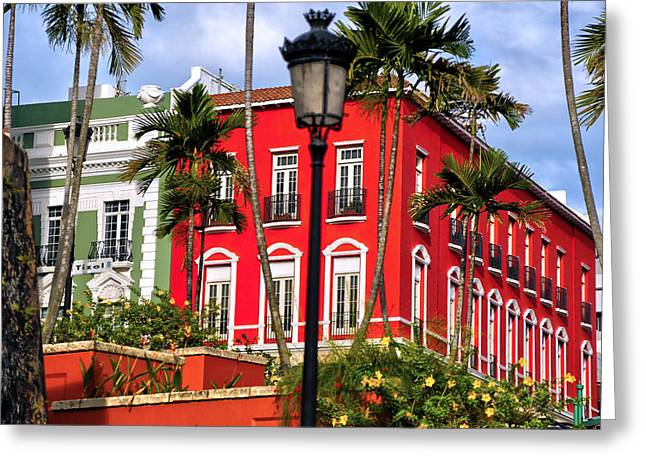 Old San Juan 1 Greeting Card