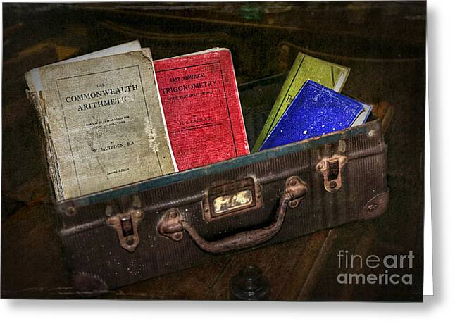 Old School Days Greeting Card by Kaye Menner