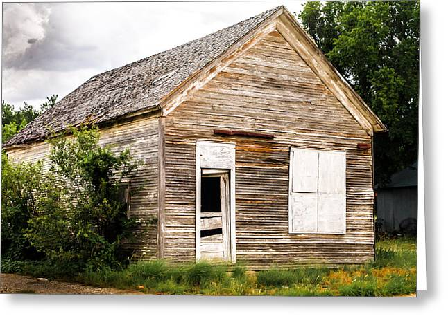 Old School House Greeting Card by Bob Marquis