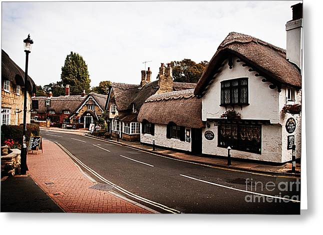 Old Shanklin Isle Of Wight  Greeting Card